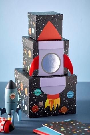 Rocket Stacking Gift Boxes