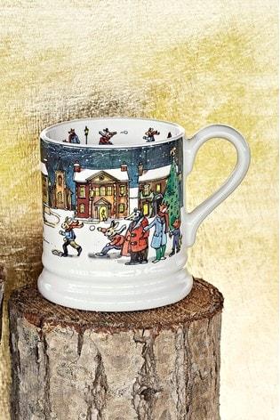 Emma Bridgewater Year In The Country Winter Scene Half Pint Mug