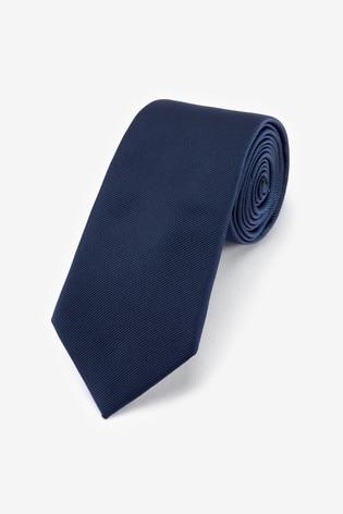 Navy Regular Twill Tie