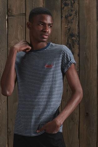 Superdry Organic Cotton Stripe T-Shirt