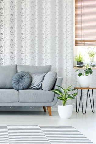 Art For The Home Grey Sublime Summertime Wallpaper