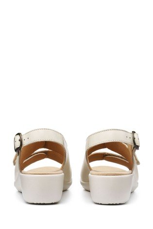 Hotter Easy II Extra Wide Fit Touch Fastening/Buckle Open Sandals