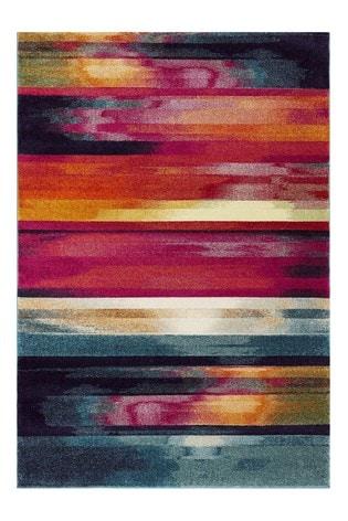 Nova Stripe Rug by Asiatic Rugs