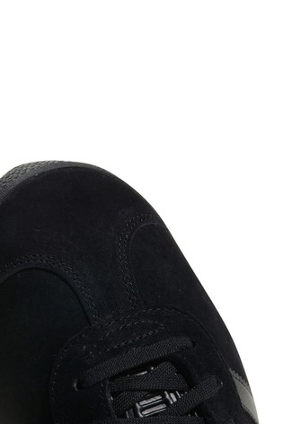 adidas Originals Black/Black Gazelle Trainers