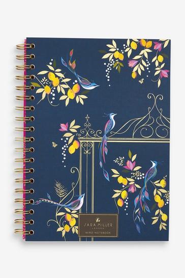 Sara Miller B5 Floral Notebook