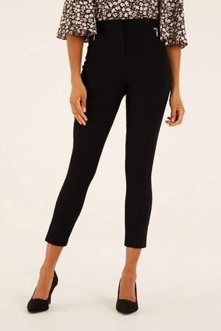 F&F Black Bengaline Trousers