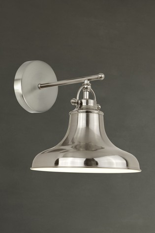 Helix 1 Light Industrial Wall Light by Searchlight