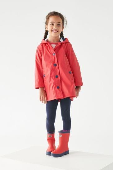 Hatley Red Classic Splash Jacket