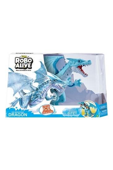 Robo Alive Blue Ice Blasting Dragon