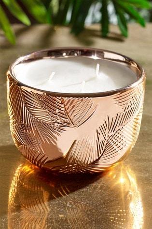 Paradise Blush Ceramic Candle