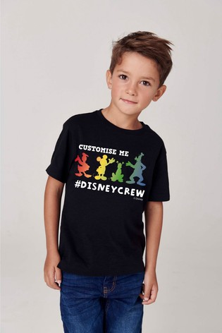Personalised Disney™ Crew T-Shirt