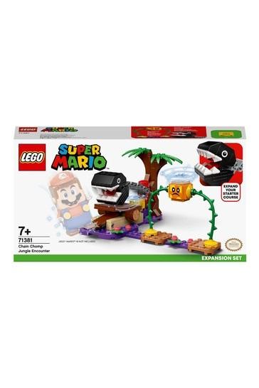 LEGO 71381 Super Mario Chomp Jungle Encounter Expansion Set