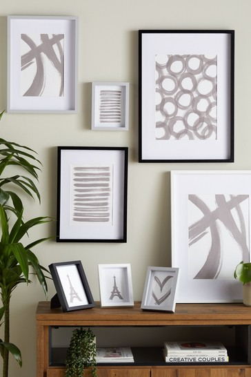 Set of 8 Multi Gallery Mixed Photo Frames