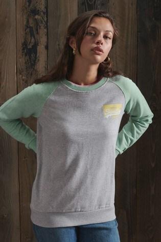Superdry Organic Cotton Original Baseball Sweatshirt