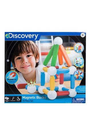 Discovery Toy Magnetic Building Blocks 25 pcs
