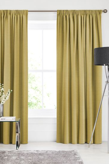 Soho Sunflower Green Made To Measure Curtains