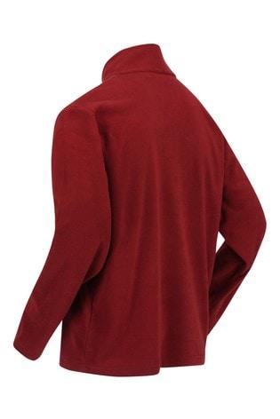 Regatta Red Thompson Half Zip Fleece