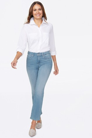 NYDJ Womens Marilyn Straight Ankle Jeans