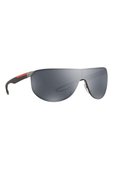 Prada Sport Black Visor Sunglasses