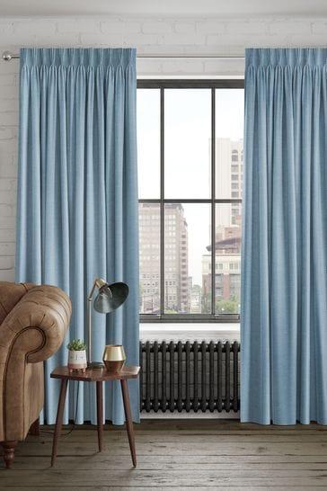 Craven Aqua Green Made To Measure Curtains