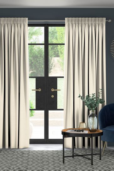 Craven Sand Natural Made To Measure Curtains