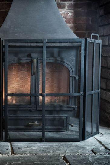 Black Fire Screen Surround by Ivyline