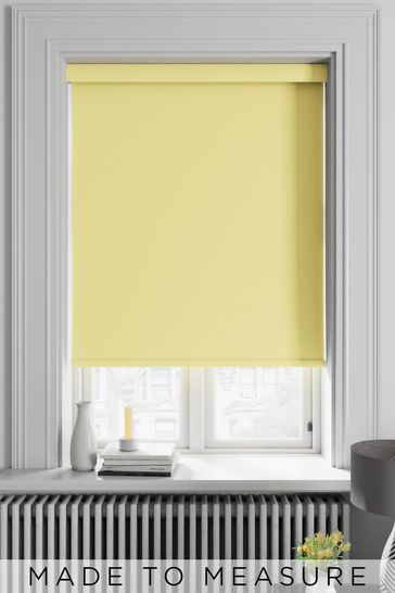 Haig Buttercup Yellow Made To Measure Blackout Roller Blind