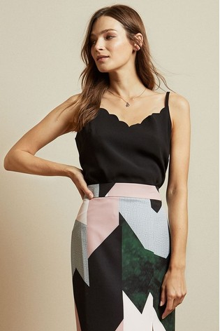 Ted Baker Siina Scalloped Neckline Cami