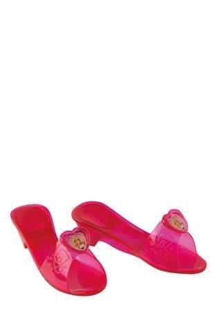 Rubies Pink Disney Princess Sleeping Beauty Jelly Shoes