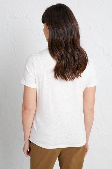 Seasalt Cornwall White Reflection T-Shirt