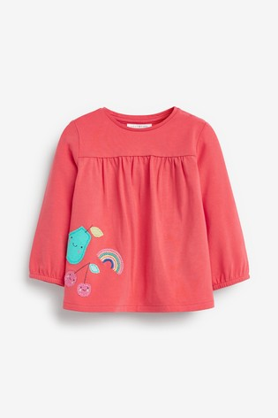 Multi 3 Pack Bright Tops (0mths-2yrs)