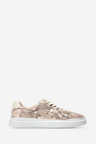 Cole Haan Pink GrandPro Rally Court Trainers