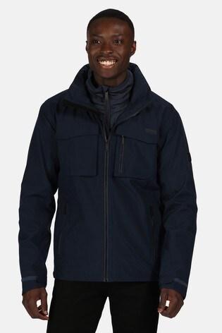 Regatta Blue Shrigley 3-In-1 Waterproof Jacket