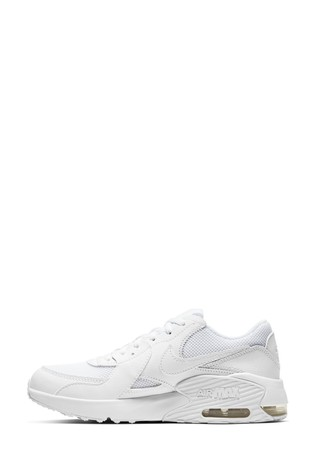 Nike White Air Max Excee Youth Trainers