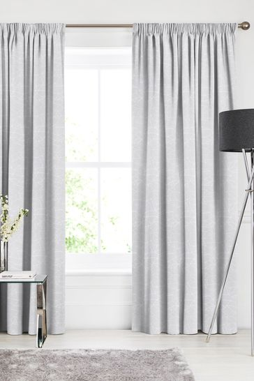 Cullen Silver Grey Made To Measure Curtains