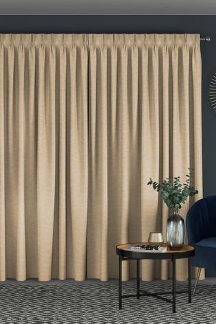 Cullen Gold Orange Made To Measure Curtains