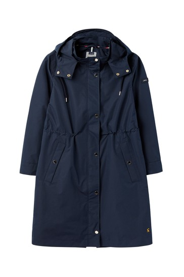 Joules Taunton Long Technical Raincoat