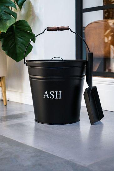 Black Ash Bucket With Shovel by Ivyline