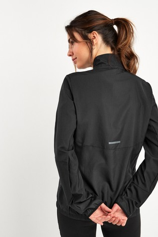 adidas Black Run It Jacket