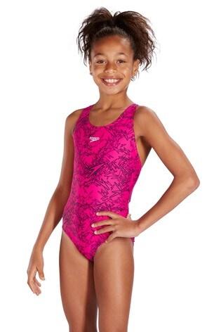 Speedo® Boom All-Over Splashback Swimsuit