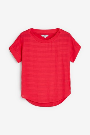 Bright Pink Stripe T-Shirt