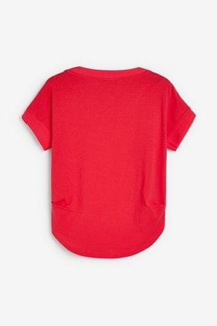 Bright Pink Stripe T-Shirt