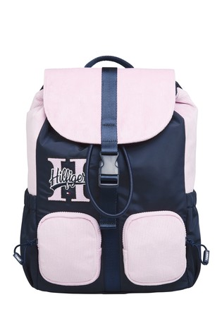Tommy Hilfiger Pink Youth Cord Backpack