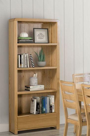 Kemble Curve Bookcase by Julian Bowen