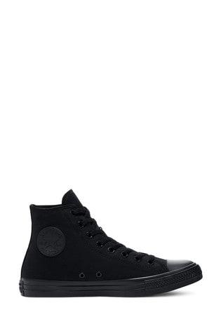 Converse Black/Black Chuck High Trainers