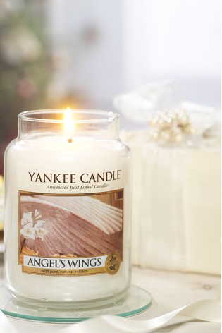Yankee Candle Classic Large Angel Wings Candle