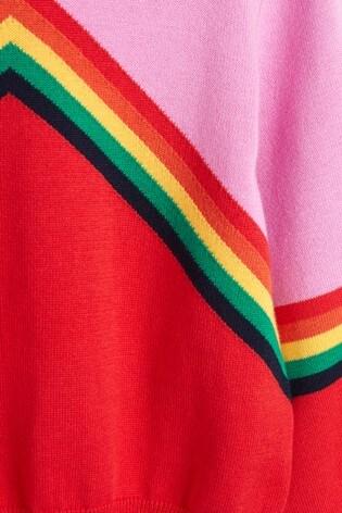 Mix/Madeleine Thompson Chevron Knit Jumper