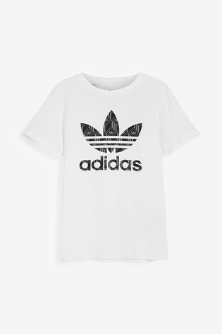 adidas Originals Jaquard Trefoil T-Shirt
