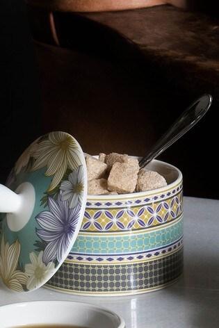 Portmeirion Atrium Covered Sugar Pot