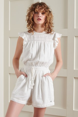 Superdry Maisie Lace Playsuit
